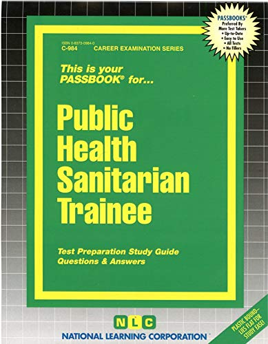 Public Health Sanitarian Trainee: Jack Rudman