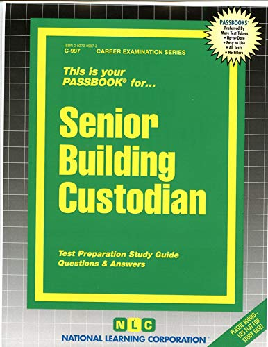9780837309972: Senior Building Custodian(Passbooks)