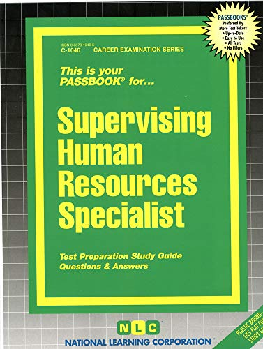 9780837310466: Supervising Human Resources Specialist
