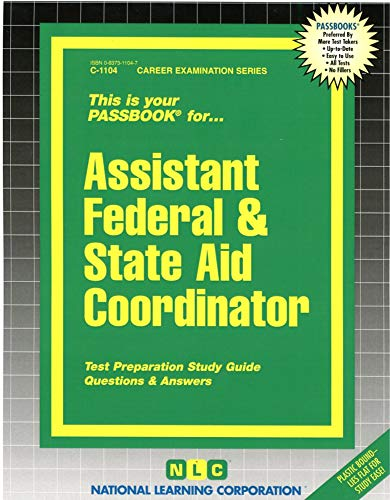 Assistant Federal & State Aid Coordinator: Jack Rudman