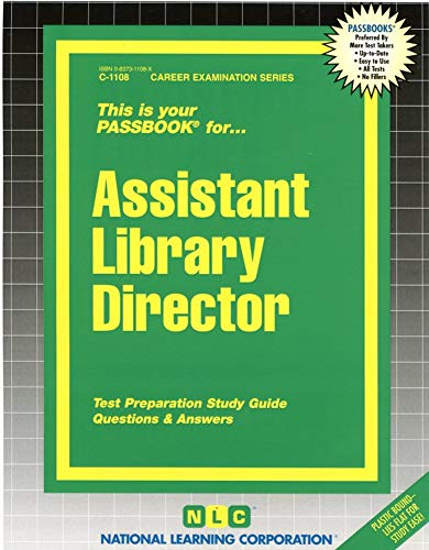 9780837311081: Assistant Library Director(Passbooks) (Career Examination Passbooks)