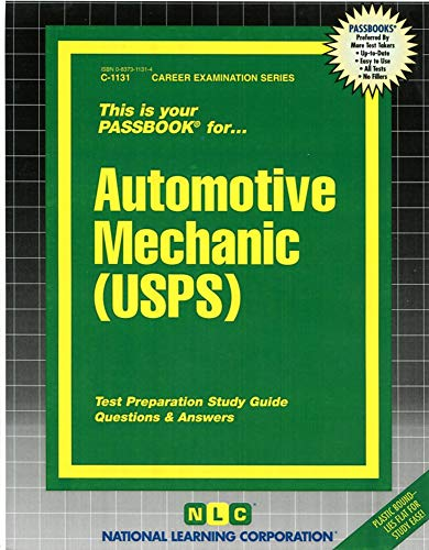 9780837311319: Automotive Mechanic (USPS)(Passbooks)
