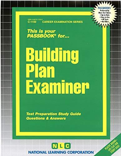 9780837311500: Building Plan Examiner(Passbooks) (Career Examination Series)