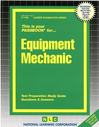 9780837311920: Equipment Mechanic (Passbooks)
