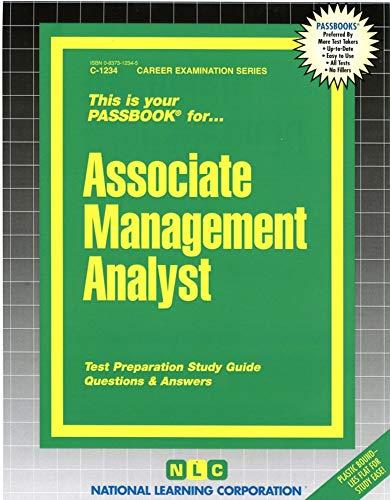 9780837312347: Associate Management Analyst(Passbooks)