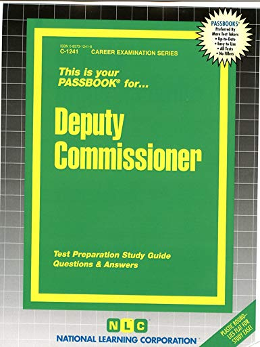 Deputy Commissioner (Career Examination Passbooks): Jack Rudman
