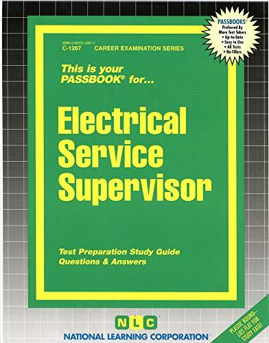 9780837312675: Electrical Service Supervisor(Passbooks)