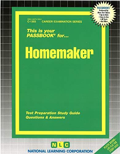 9780837313030: Homemaker(Passbooks)