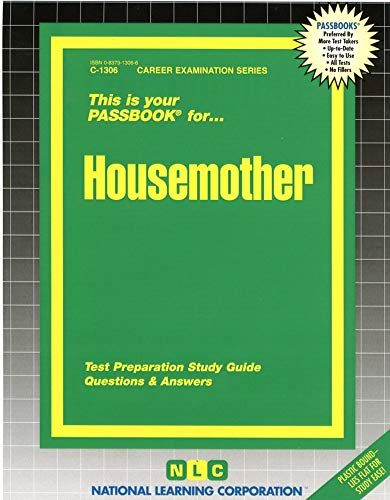 Housemother (Career Examination): Jack Rudman