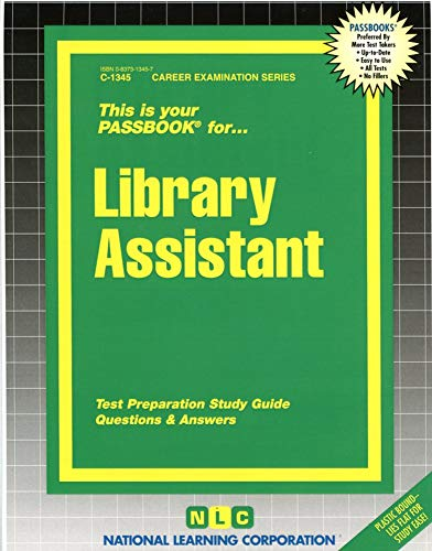 9780837313450: Library Assistant(Passbooks) (Passbooks for Career Opportunities)