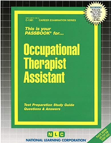 9780837313818: Occupational Therapist Assistant(Passbooks) (Career Examination Passbooks)