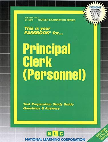 9780837313993: Principal Clerk (Personnel)(Passbooks) (Career Examination Passbooks)