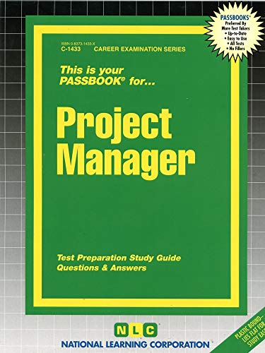 9780837314334: Project Manager(Passbooks) (Career Examination Series)