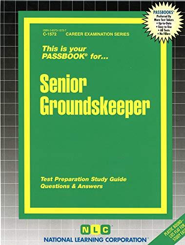 9780837315720: Senior Groundskeeper(Passbooks)