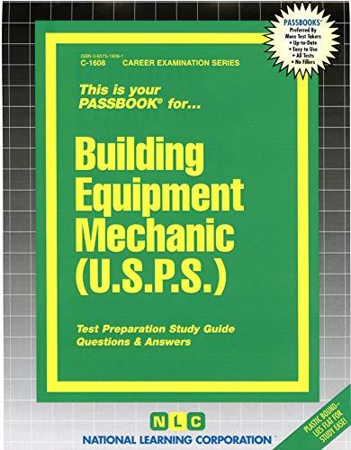 9780837316086: Building Equipment Mechanic (U.S.P.S.)(Passbooks)