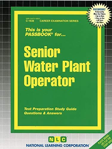 9780837316383: Senior Water Plant Operator(Passbooks)