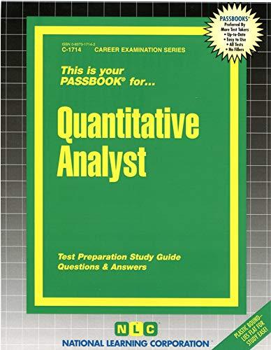 Quantitative Analyst(Passbooks): Jack Rudman