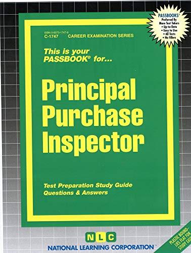 9780837317472: Principal Purchase Inspector(Passbooks)