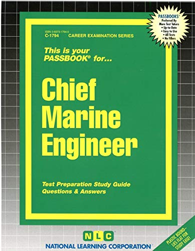 9780837317946: Chief Marine Engineer(Passbooks) (Passbook Series Passbooks for Career Opportunities)