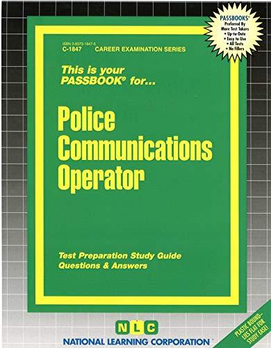 9780837318479: Police Communications & Teletype Operator(Passbooks)