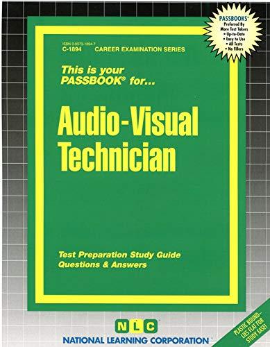 9780837318943: Audio-Visual Technician(Passbooks) (Career Examination Series: C-1894)