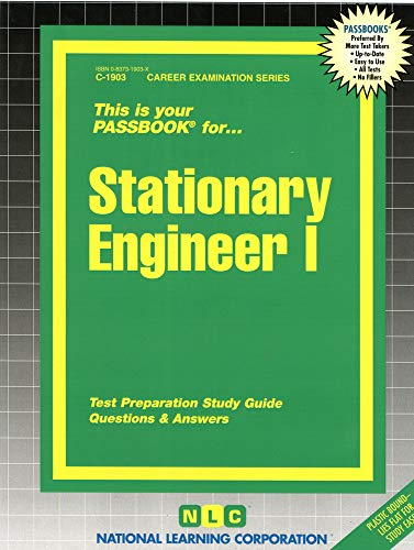 9780837319032: Stationary Engineer I(Passbooks)
