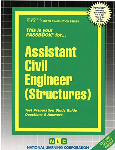 Assistant Civil Engineer (Structures) (Career Examination Passbooks): Jack Rudman