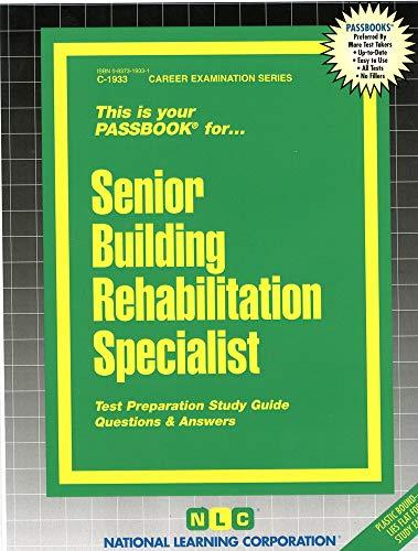 Senior Building Rehabilitation Specialist: National Learning Corporation