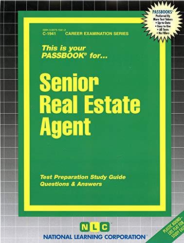 9780837319414: Senior Real Estate Agent(Passbooks)