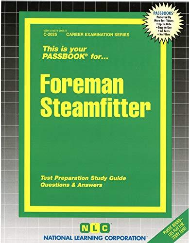 9780837320250: Foreman Steamfitter(Passbooks) (Career Examination Ser. : C-2025)
