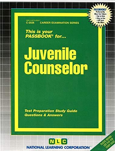 9780837320267: Juvenile Counselor(Passbooks) (Career Examination Passbooks)