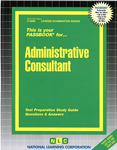 Administrative Consultant: Jack Rudman