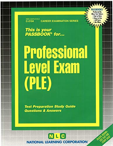 9780837321042: Professional Level Exam (PLE)
