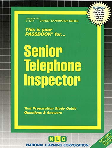 Senior Telephone Inspector: Jack Rudman, National