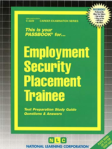 Employment Security Placement Trainee (Career Examination, C-2229): Jack Rudman