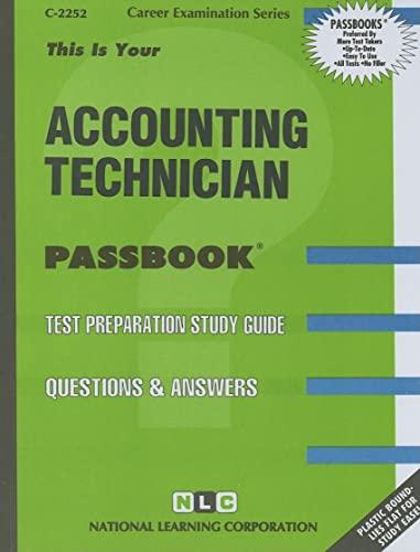 Accounting Technician (Career Examination Series : C-2252)