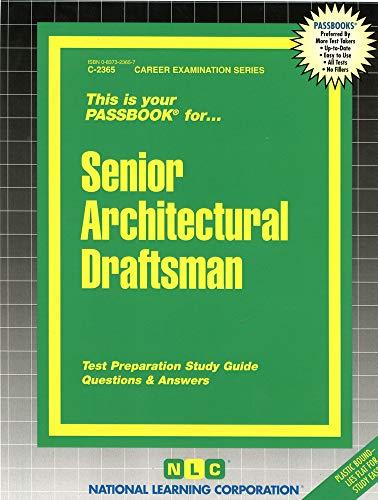 9780837323657: Senior Architectural Draftsman(Passbooks) (Career Examination Series)