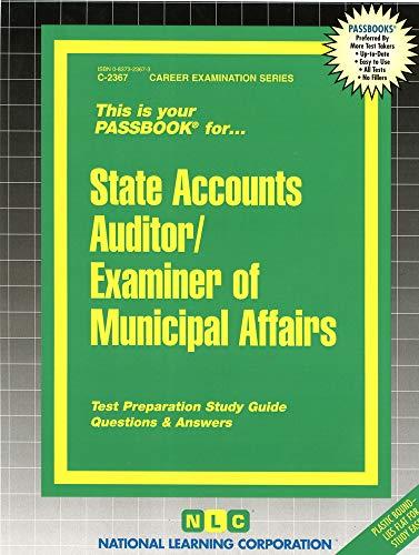 State Accounts Auditor/Examiner of Municipal Affairs: Jack Rudman