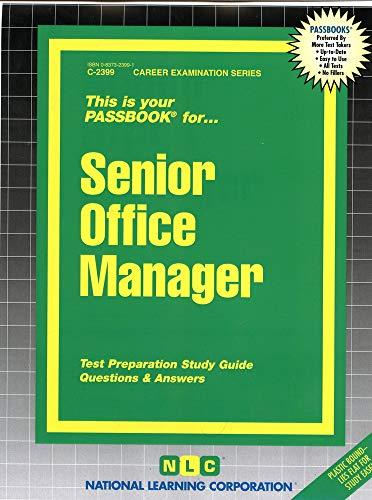Senior Office Manager: Jack Rudman