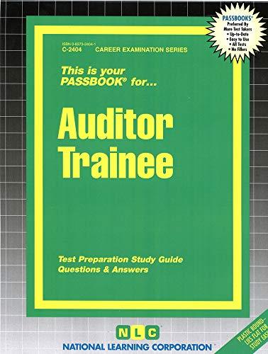 9780837324043: Auditor Trainee(Passbooks) (C-2404)
