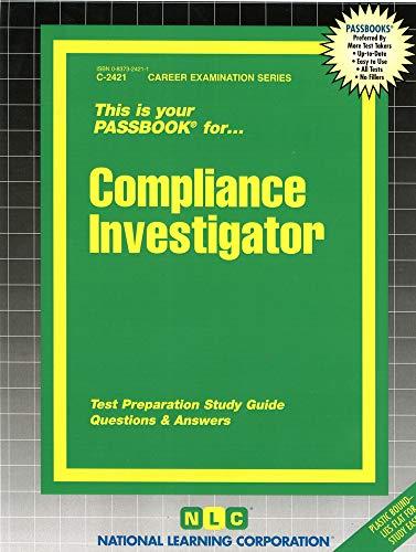Compliance Investigator: Jack Rudman