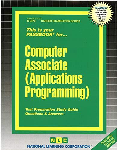 9780837324708: Computer Associate (Applications Programming)(Passbooks)
