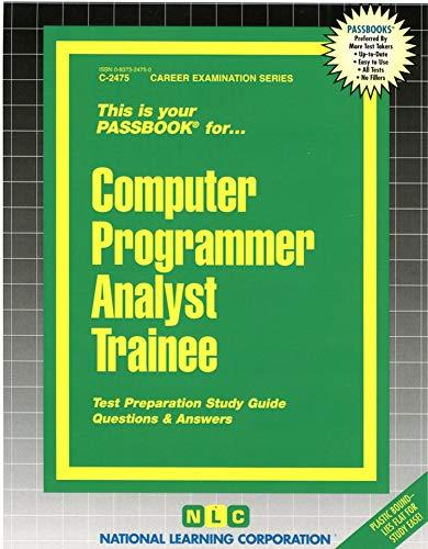 9780837324753: Computer Programmer Analyst Trainee(Passbooks)