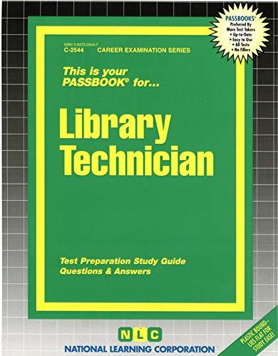 9780837325446: Library Technician (Passbooks)