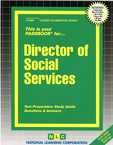 9780837326665: Director of Social Services(Passbooks) (Career Examination Passbook Series)