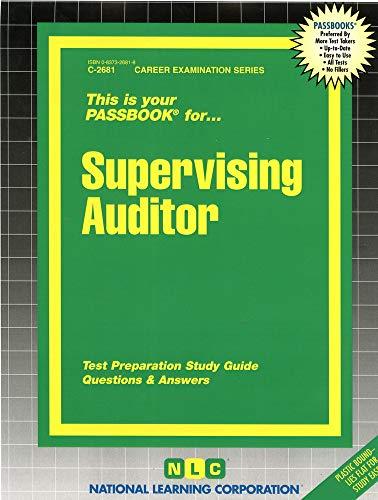 Supervising Auditor: Jack Rudman