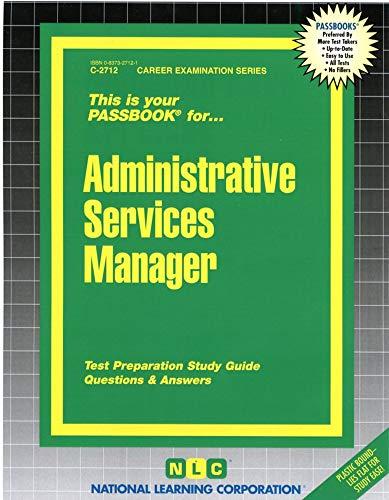 Administrative Services Manager: Jack Rudman