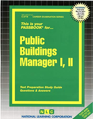 Public Buildings Manager (Passbook for Career Opportunities): Jack Rudman