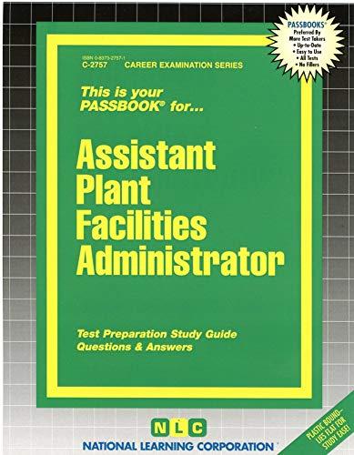 Assistant Plant Facilities Administrator: Jack Rudman