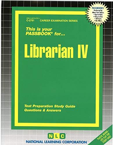 9780837327914: Librarian IV(Passbooks) (C-2791)
